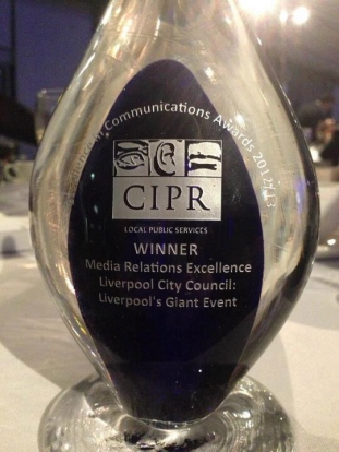 Liverpool City Council's CIPR Award