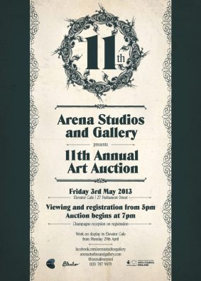 arena sale poster