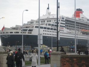 Queen Mary II, 17th May 2013
