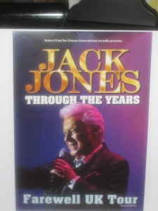 Jack Jones-UK Farewell Tour