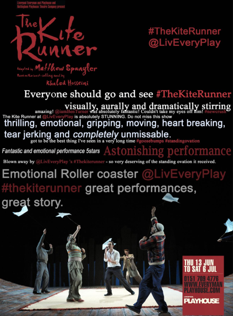 kite runner tweets
