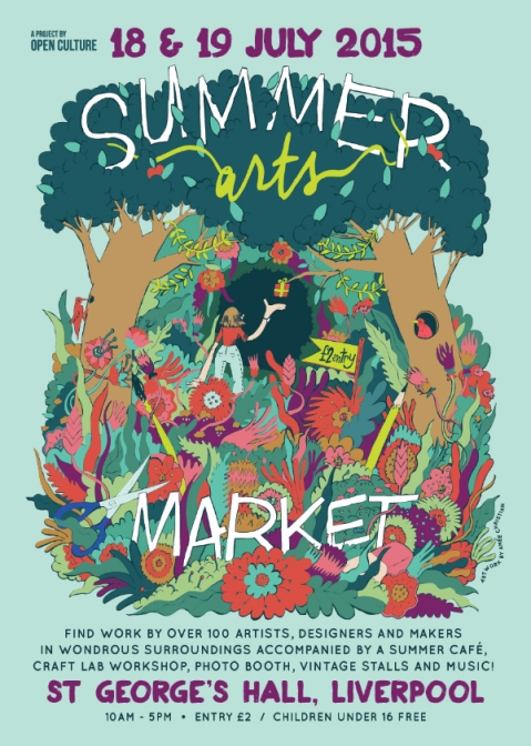 summer arts flyer