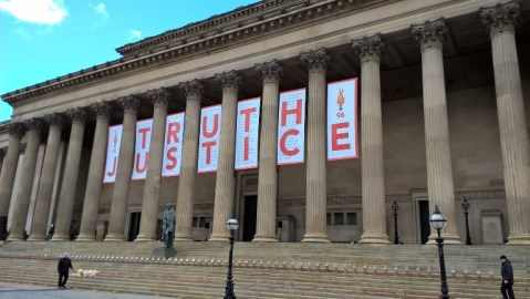 SGH Hillsborough Truth and Justice banner